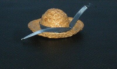 Vintage Shirley Temple Doll Straw Hat NM