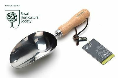 Burgon & Ball Stainless Steel Compost Scoop - RHS Endorsed