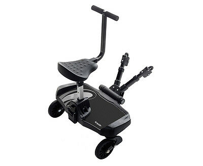 Bumprider Toddler Board with Seat - Black