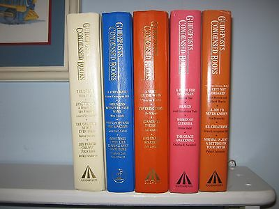Lot of 6 Guideposts Condensed Books HC VGC Christian Reads 4 Books in Each Book
