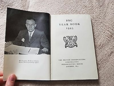 "WW2 ""The BBC Year Book 1945""..British Broadcasting Company Yearbook 1945.."