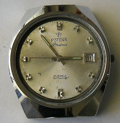 ETA 2452 Movement Working + Hands & Case  / ETA 2452 Automatico Funciona