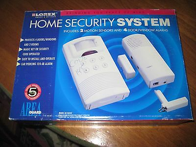 lorex home security system area guard model ag 2634z motion