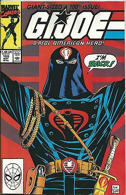 G.i.joe:a Real American Hero #100 (Marvel) (1990) Vf/nm