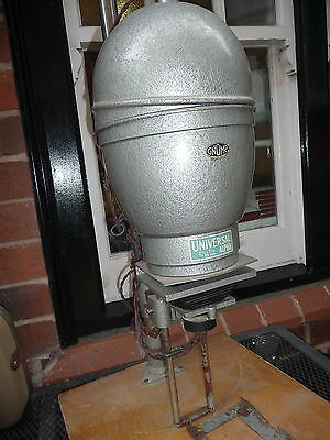 """Enlarger GNOME + WRAY 4.25"""" lens large heavy metal stand well made 38x46cm base"""