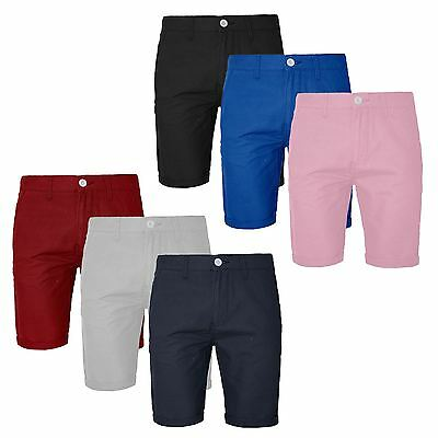 NEW MEN/'S 100/% COTTON SUMMER ROLL UP CASUAL VERITIES COLOR HALF PANT