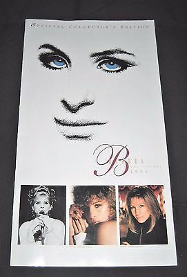 Vintage 1994 Barbra Streisand The Concert Official Collector's Edition Catalog