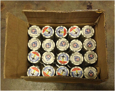 1000 Thunderbird US Air Force Composite Poker Chips 11.5gr NEW Free Shipping *