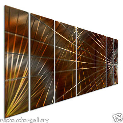 Metal Wall Hanging Abstract Metal Panel Art Contemporary Home Decor Network