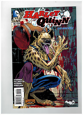 HARLEY QUINN #11  Monsters Variant Cover - The New 52           / 2014 DC Comics