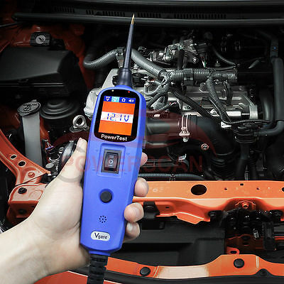 Vgate PT150 Power Tester Probe Lead Electrical System Tester Diagnostic Tool
