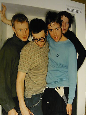 Blur - Magazine Cutting (Full Page Photo) (Ref Nd3)