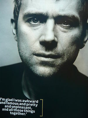 Blur (Damon) - Magazine Cutting (Full Page Photo) (Ref Lb3)