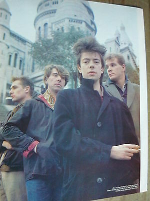 Echo & The Bunnymen - 80's Magazine Cutting (Full Page Photo) (Ref Ta)