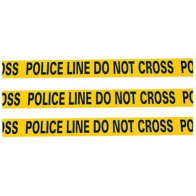Police Line Crime Scene Caution Banner Tape Decoration Party Supplies