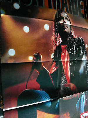 Iron Maiden (Bruce Dickinson) - Huge Magazine Fold-Out Poster (Ref W9A)