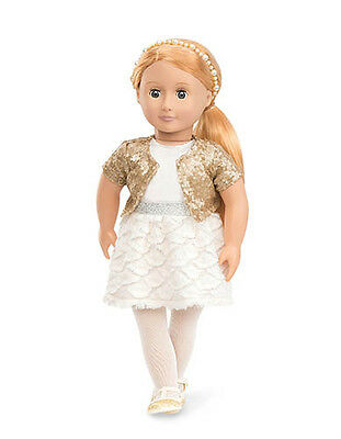 Our Generation - Holiday Hope Puppe 46 cm mit Glitzeroutfit