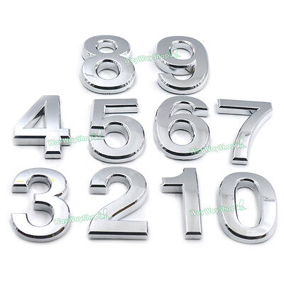Number Self-stick Mailbox House Hotel Door Address Digit Street Address car Sign