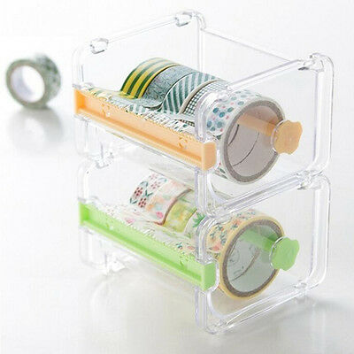 UK Desktop Tape Dispenser Tape Cutter Washi Tape Dispenser Roll Tape Holder