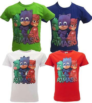 Maglietta SuperPigiamini Pjmasks T-shirt Bimbo Pj Masks PS 25094