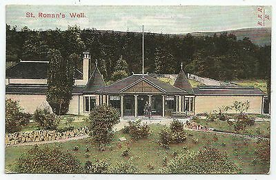 o scotland scottish postcard st ronans well