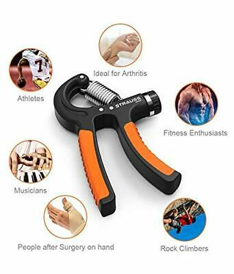 OKUN ADJUSTABLE HAND POWER GRIP EXERCISER 10-40 kg, Wrist & Forearm training