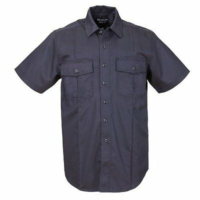 NEW 5.11 Tactical #46122 Men's A Class Short Sleeve Station Shirt (Fire Navy,