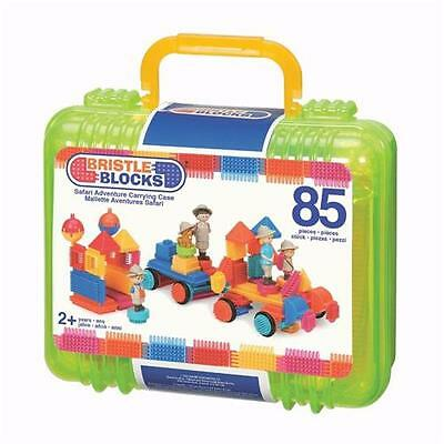 Safari Bristle Blocks 85 Pieces in a Carry & Storage Case New Children's Toy