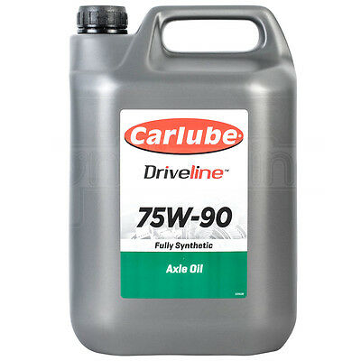 Carlube Ep 75w - 90 Hypoid Gear Oil Fully Synthetic Manual Grearbox 4.55 Litre