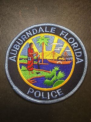 Auburndale Florida  Police  Shoulder Patch