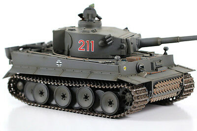 VS Tank Pro 1:24 Scale German Tiger 1 Early Production RC Battle Tank (Infrared