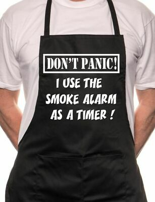 Don't Panic Fathers Day Gift Funny BBQ Cooking Novelty Apron