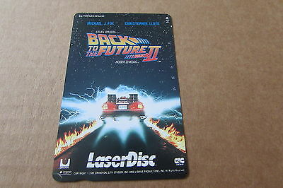 Back To The Future 2 Fox Rare Mint Unused Laser Disc Japanese Phonecard (N205)