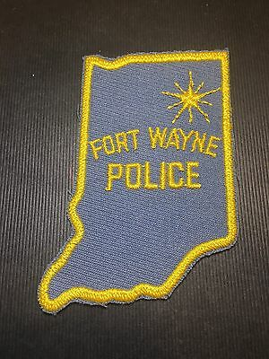 Fort Wayne Indiana Police Shoulder Patch