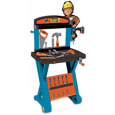 Bob The Builder 1st Workbench & Mechanical Drill NEW