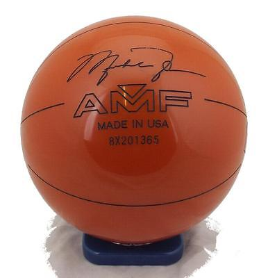 14lb AMF Michael Jordan Basketball tenpin bowling ball  - new & undrilled.