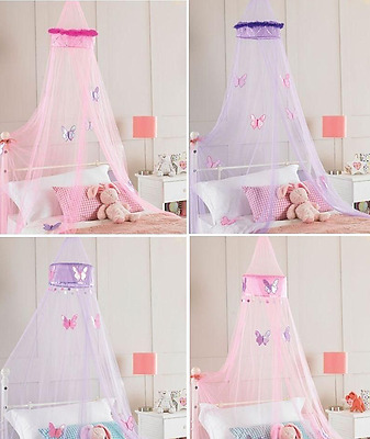Bed canopy girls childrens kids tulle netting insect net