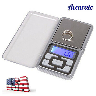 Mini 200g x0.01g Digital Scale Jewelry Gold Herb Balance Weight Gram LCD US Ship