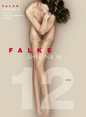 Falke Shelina 12, Stay-up, halterlose Strümpfe, ultra-transparent