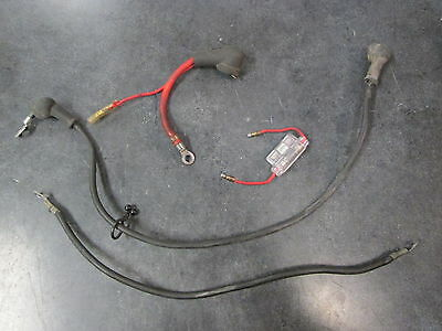 83 84 85 Yamaha XC180 Battery & Starter Cables with Fuse XC 180 Riva