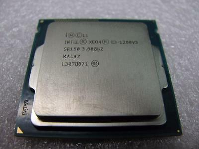 Intel E3-1280 V3 SR150 CPU 4 Core 8 Threads 3.6GHz Ships from USA