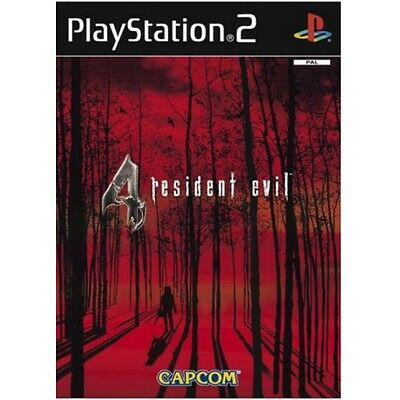 Resident Evil 4 Game PS2 - Brand New!
