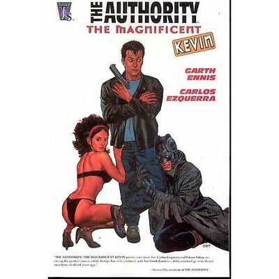 Authority Magnificent Kevin TP - Brand New!