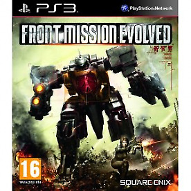 Front Mission Evolved Game PS3 - Brand New!