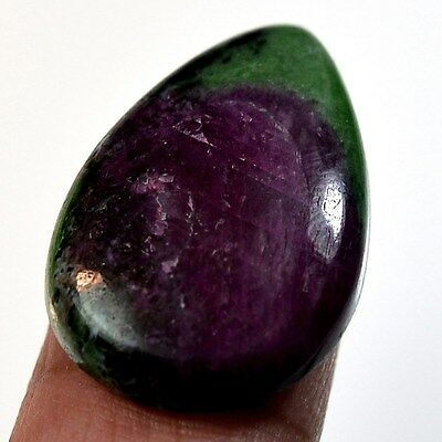 32Ct Natural Ruby in Zoisite (28mm X 19mm) Cabochon