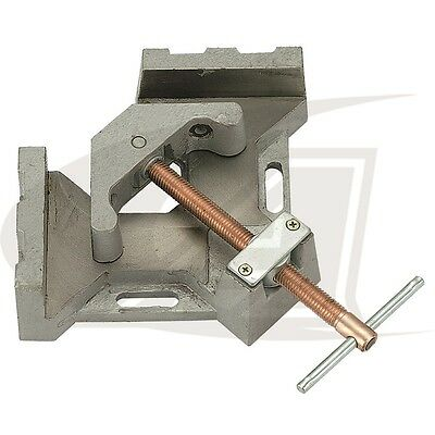 """2-Axis Welders Angle Clamp with 4.80"""" Jaw (length) - Quick-Acting Screw"""