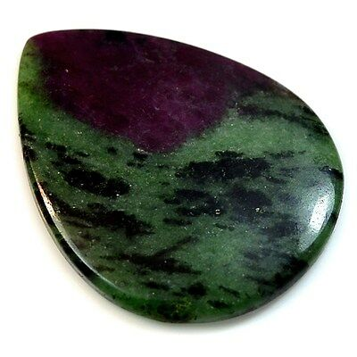 86.5Ct HUGE Natural Ruby in Zoisite (49mm X 38mm) Cabochon