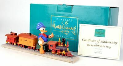 WDCC Disney - Out of Scale - Donald Duck - Backyard Whistle Stop