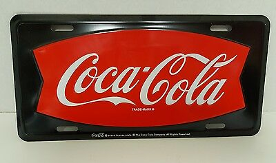 Vintage Coke Coca-Cola License Plate Vintage Sign Over 15 Years Old New Rare
