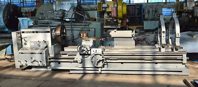 "33.4/53"" x 118"" BINNS & BERRY ""TRIDENT L850"" HEAVY-DUTY GAP ENGINE LATHE -#28085"
